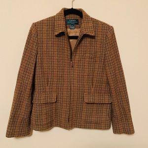 Vintage Ralph Lauren Plaid Blazer